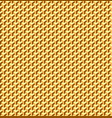 golden seamless texture geometric patterned vector image vector image