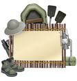 Outdoor Leisure Board vector image