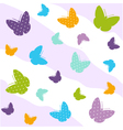 Seamless Butterfly Pattern vector image vector image