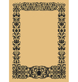 vintage ornamental borders vector image