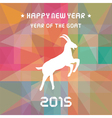 year goat12 vector image vector image