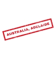 Australia Adelaide Rubber Stamp vector image vector image