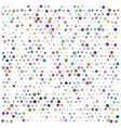 Bright color circles vector image vector image