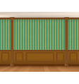 cabinet wall vector image vector image