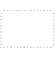 Card Suits Border Frame vector image vector image