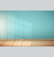 example of empty room with window vector image vector image