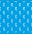 on air radio pattern seamless blue vector image vector image