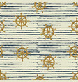 seamless pattern gold wheels and stripes vector image vector image