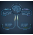 Technology template vector image vector image