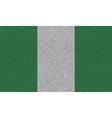 Flags Nigeria on denim texture vector image