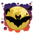 Bats and Moon2 vector image