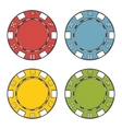 Casino chips set