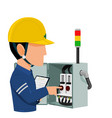 electrical audition vector image