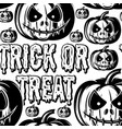 festive background with a scary pumpkin vector image