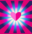 greeting lovely background with a heart vector image vector image