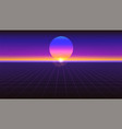 sci fi futuristic abstract background violet vector image vector image