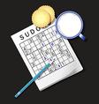 Sudoku Milk1 vector image vector image