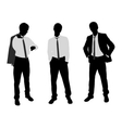 young businessman vector image vector image