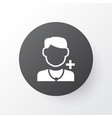 doctor icon symbol premium quality isolated vector image vector image