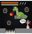 Dragon princess and videogame design