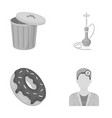 ecology trade business and other web icon in vector image vector image