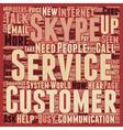 How About Some Customer Service Please text vector image vector image