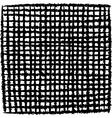 irregular black stripe grid pattern over white vector image vector image