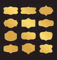 set of sticker template vector image