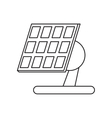 solar panel renewable energy alternative vector image