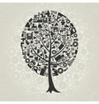 Tree of Industry vector image vector image