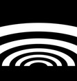 abstract striped concentric background vector image