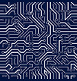 circuit board seamless pattern background vector image vector image