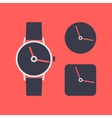 Icon wrist watch vector image vector image