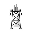 line towel energy technology and industrial vector image vector image