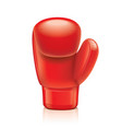 object boxing glove vector image vector image
