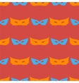 Silhouette of Masks Seamless Pattern vector image vector image