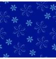 snow dark pattern vector image vector image