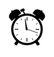 time icon isolated on white background vector image vector image