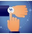 Checking the time vector image