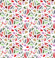 Abstract seamless mosaic pattern vector image vector image