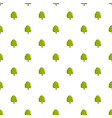 chestnut tree pattern seamless vector image