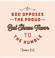 christian bible quote for use as poster vector image vector image