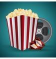 Cinema design Movie icon Colorful vector image vector image