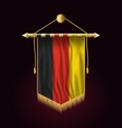 flag of germany festive vertical banner wall vector image