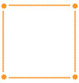 frame yellow 1 702 vector image vector image