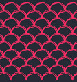 girl mermaid seamless pattern vector image vector image