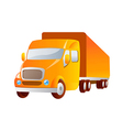 icon truck vector image vector image
