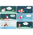 Set of Christmas banners 2 vector image vector image