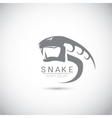 Snake simple black logo design element