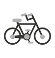 bicycle sport vehicle icon vector image vector image